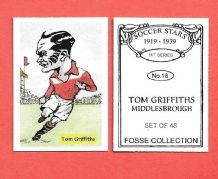 Middlesbrough Tom Griffiths 18 (FC)